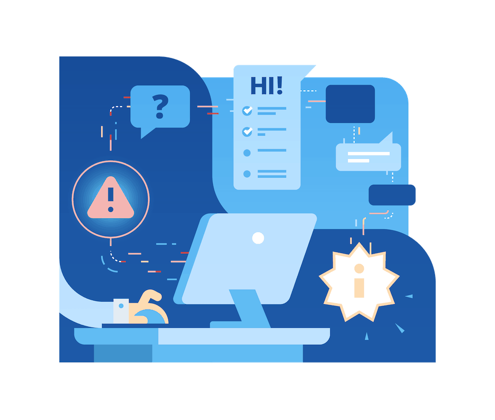 GovQA Support Illustration
