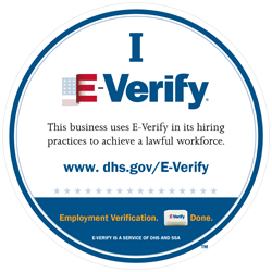 dhs.gov iEverify logo and certification