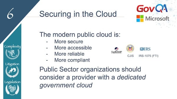 GovQA Slay The Public Records Dragon Presentation Slides Secure in Cloud