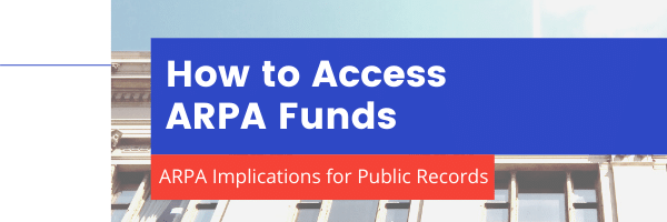 How to Acccess ARPA Funds Graphic